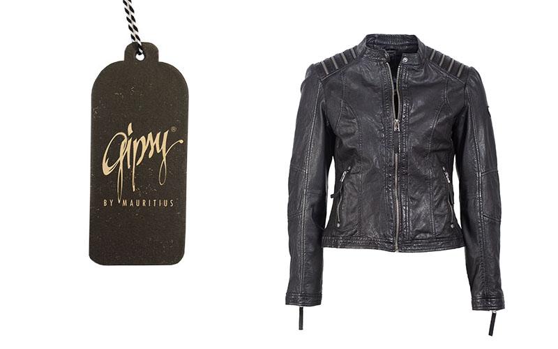 trendige gipsy biker damen lederjacke lody blog ledermode wagner. Black Bedroom Furniture Sets. Home Design Ideas