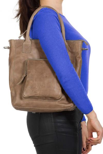 Cowboysbag Damen Tasche Mellor grau