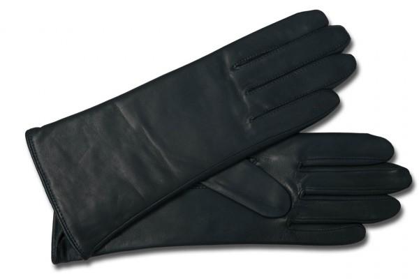 Schlichter Klassiker Damenhandschuh von Roeckl dunkelgrün
