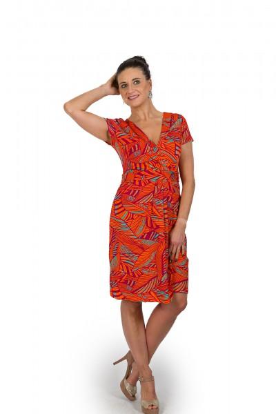Feminines Sommerkleid von ELLEN EISEMANN in orange